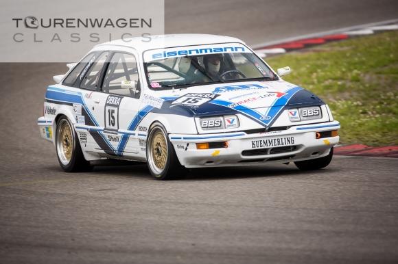 Peter Kohl im ex Ludwig Sierra XR4i